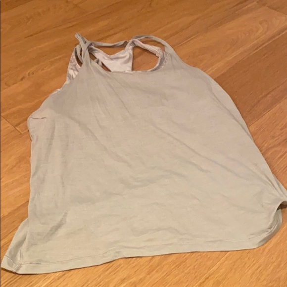 Lululemon workout top with built in bra